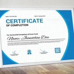 Professional Certificate Design Template