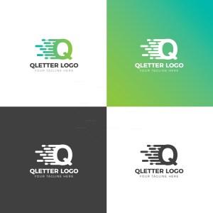 Q Creative Logo Design Template