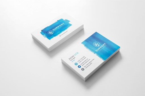 Serenity Creative Business Card Design