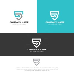 Shield Logo Design Template