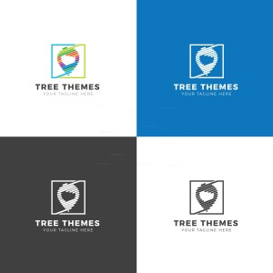 Theme Creative Logo Design Template