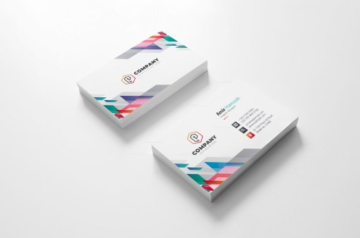 Vibrant Creative Business Card Design