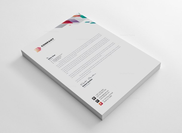 Vivid Corporate Identity Pack Design Template