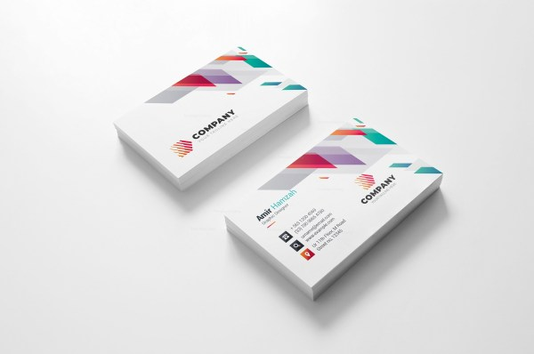 Vivid Creative Business Card Design
