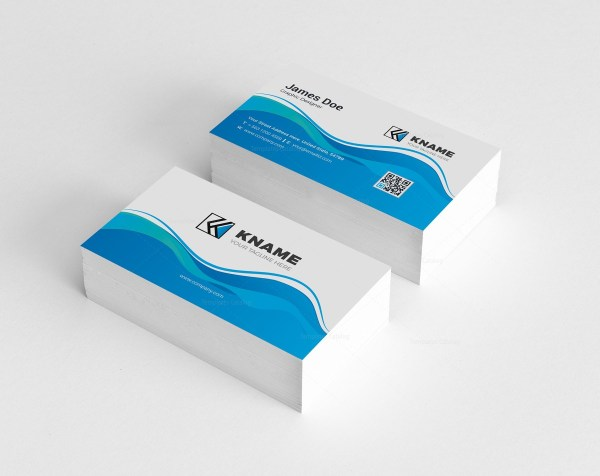 Wave Creative Business Card Design