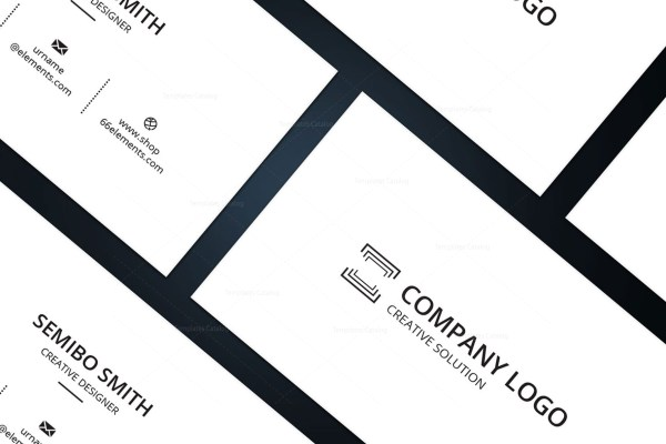 Architect Minimal Business Card Design