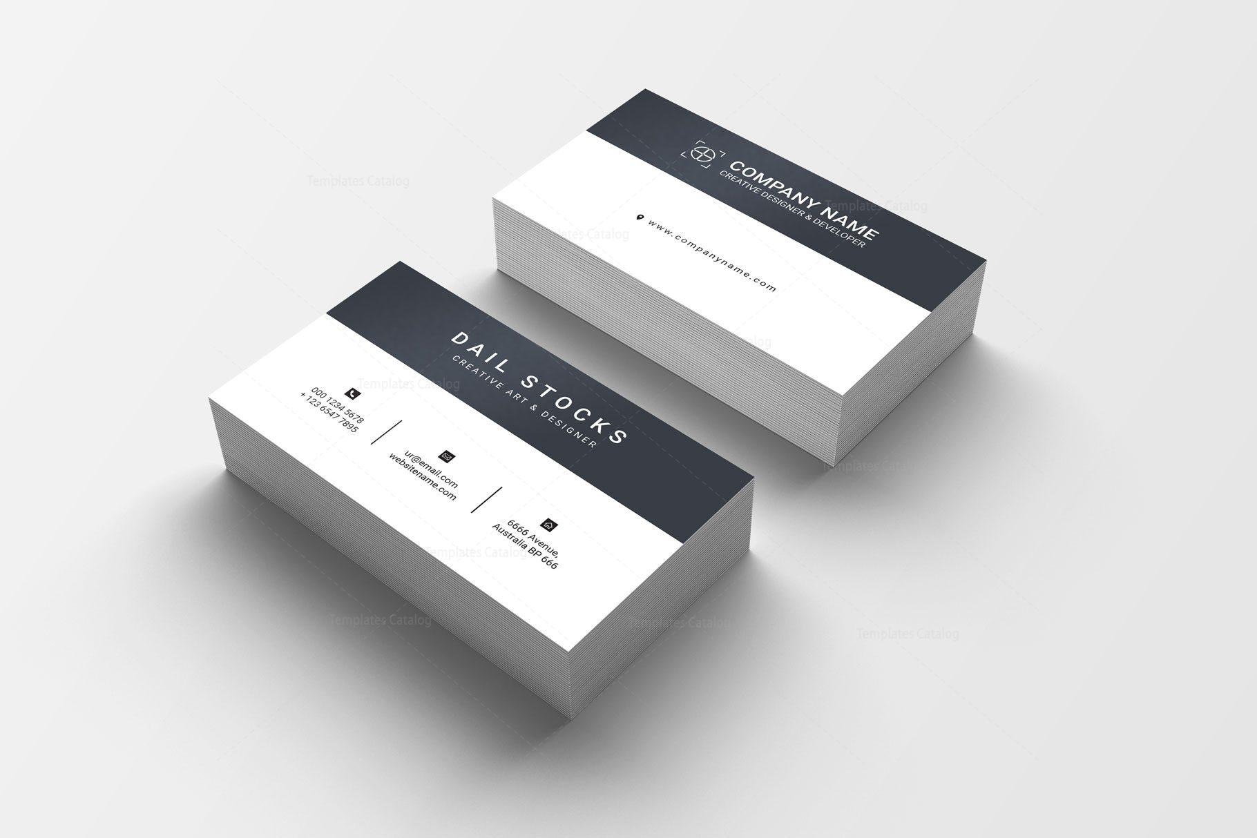 Emerald Professional Business Card Design 002232 ...