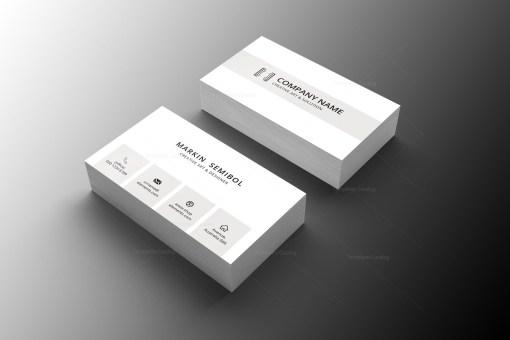 Lawyer Minimal Business Card Design