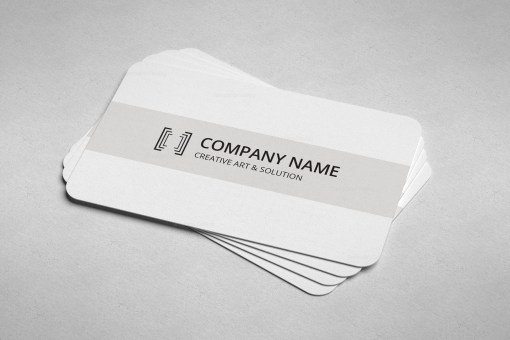 Lawyer Minimal Business Card Design