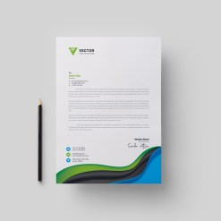 Medical Letterhead Design Template