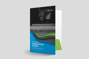 Medical Presentation Folder Template