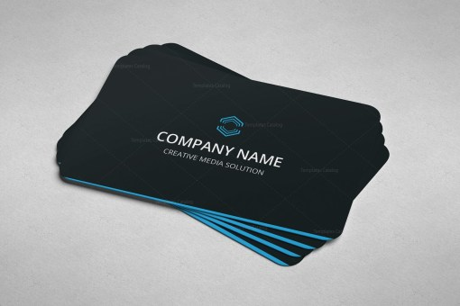 Minimal Expert Business Card Design