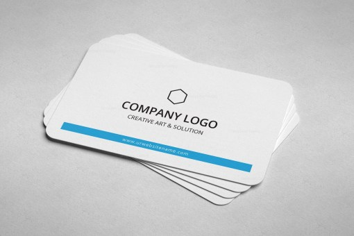 Minimal Medical Business Card Design