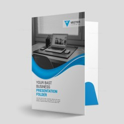 Pharmacy Presentation Folder Design Template