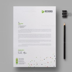 Catering Letterhead Design Template