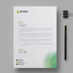 Environment Letterhead Design Template