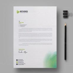 Environment Letterhead Design Template