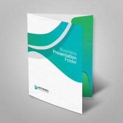 Insurance Presentation Folder Template