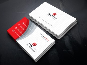Legal Services Business Card Design