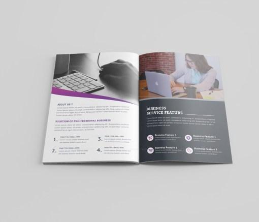 Medical Bi-Fold Brochure Template