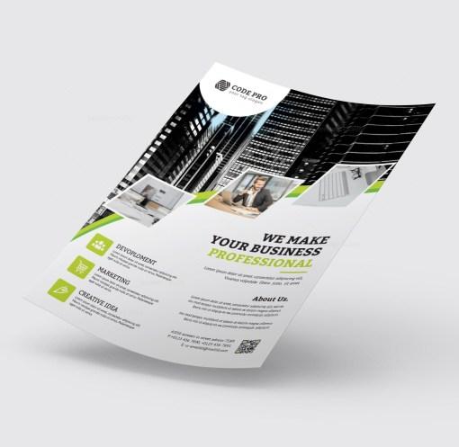 Insurance Business Flyer Design