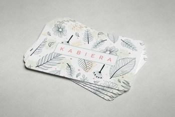 Leaf Business Card Design