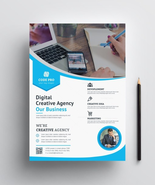 Printable Business Flyer Design