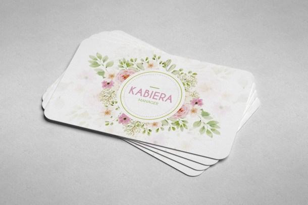Rose Business Card Design