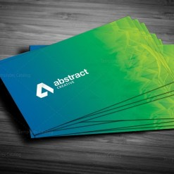 Sharp Business Card Design