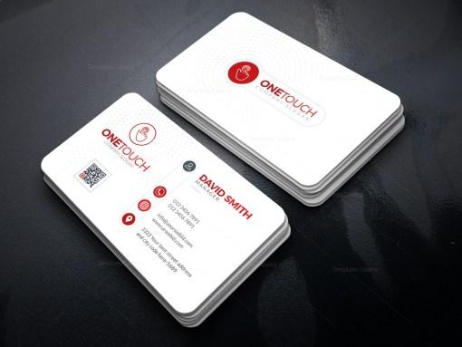 Technology Minimal Business Card