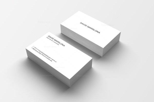 Easy Print Business Card Design