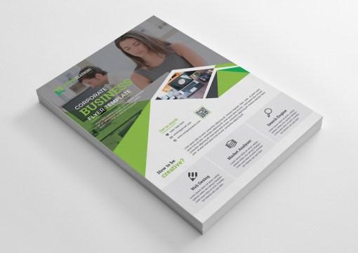 Language Course Print Flyer Design