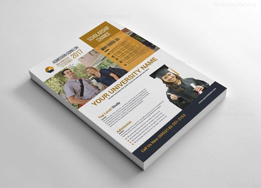 Scholarship Flyer Templates 002551 Template Catalog border=
