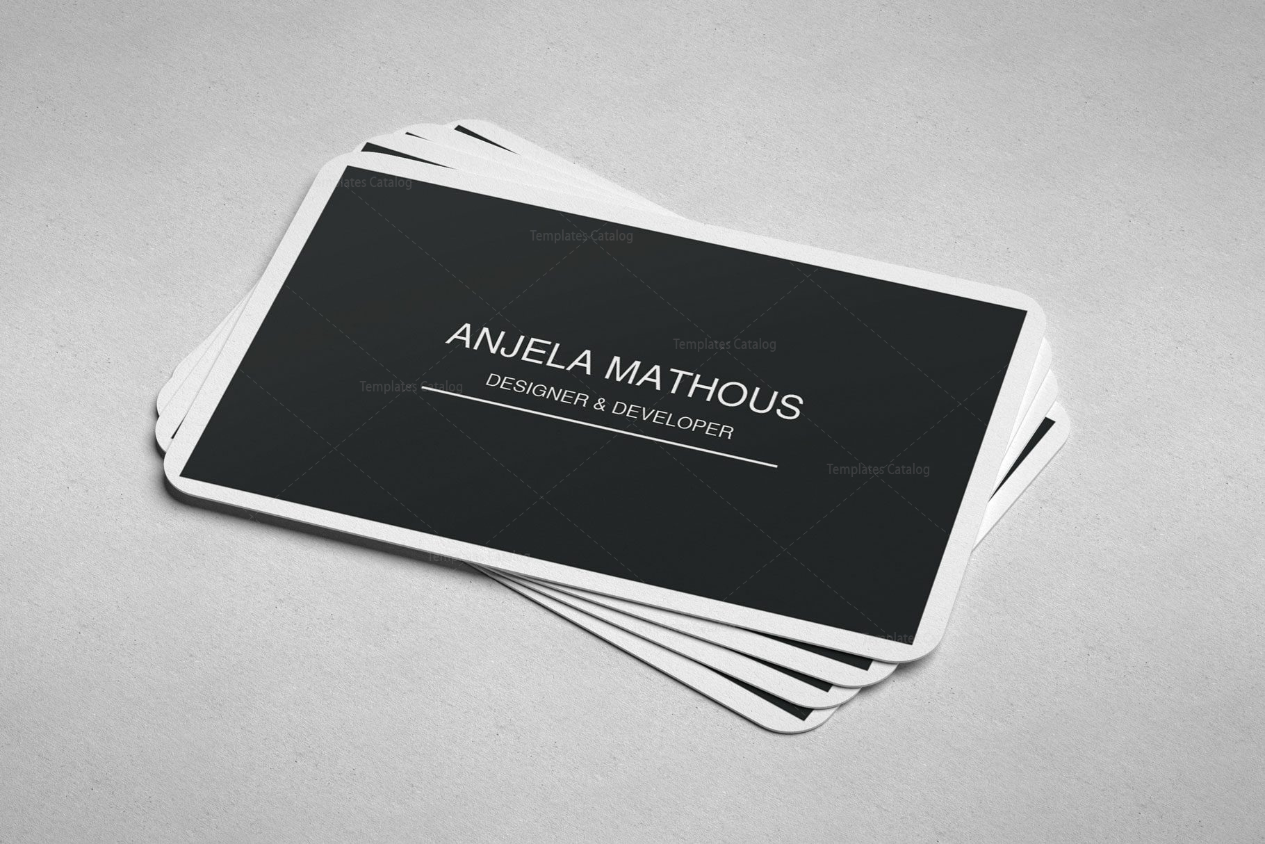 Simple Design Business Cards