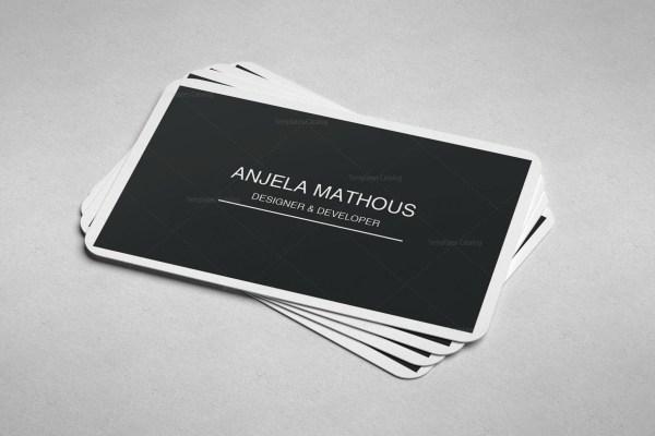 Simple Design Business Cards