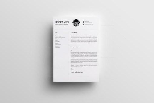 White Professional Resume