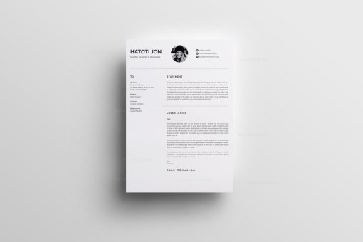 White Professional Resume