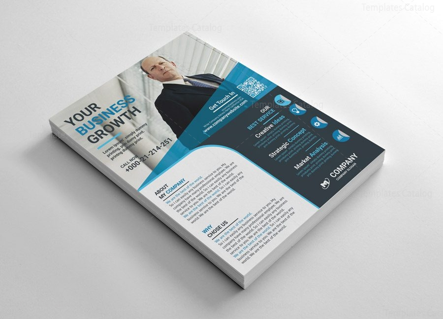 Printable Flyers Design Template
