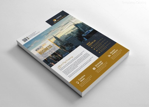 Classical Flyers Template Design
