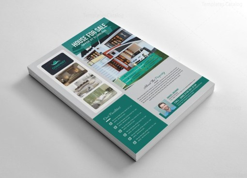 House Flyers Template Design