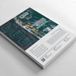 Live Company Flyers Design