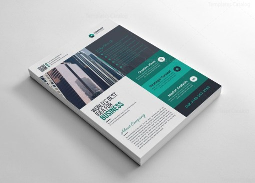 Simple Company Flyers Design