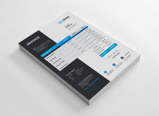 Stylish Invoice Design