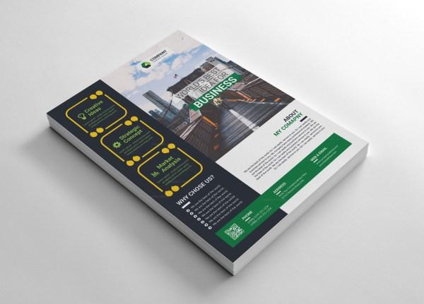 World Corporate Flyers Design