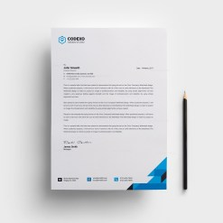 Clean Letterhead Design