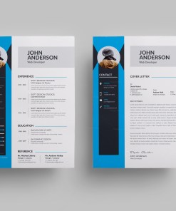 Clean Modern Resume Design