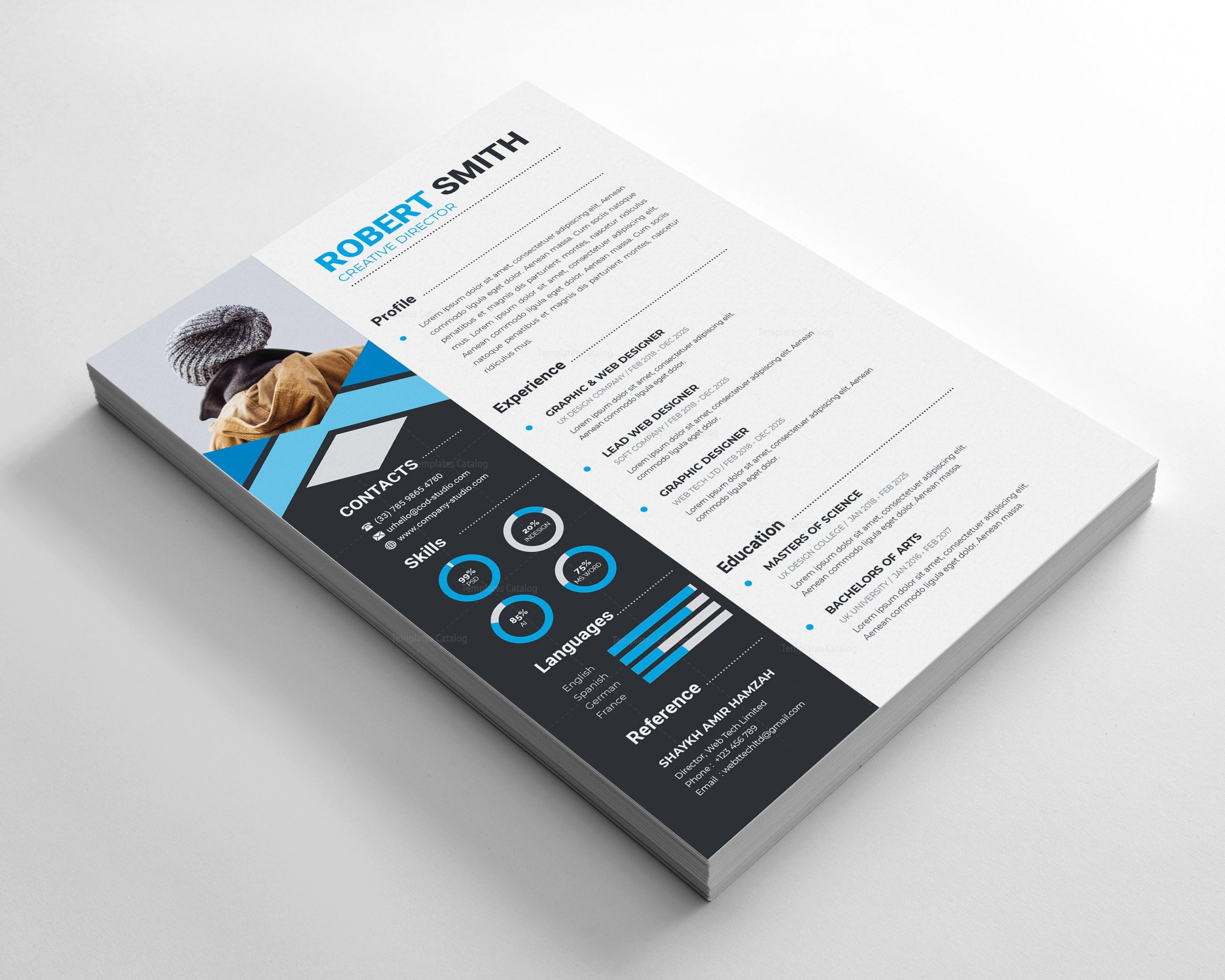 Clean Stylish Resume Design
