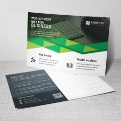 Business Postcard Design Templates