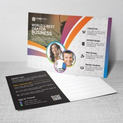 Colorful Business Postcards