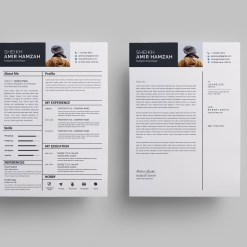 Outstanding Resume Design Template